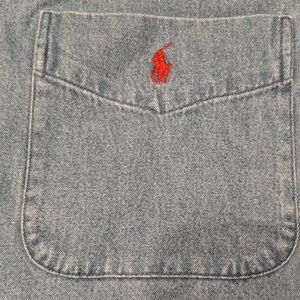 Ralph Lauren Jean Shirt XL